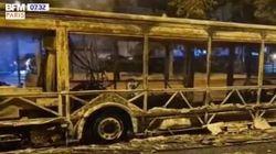Gymnase et bus brûlés: plusieurs incidents en Île-de-France avant le 14