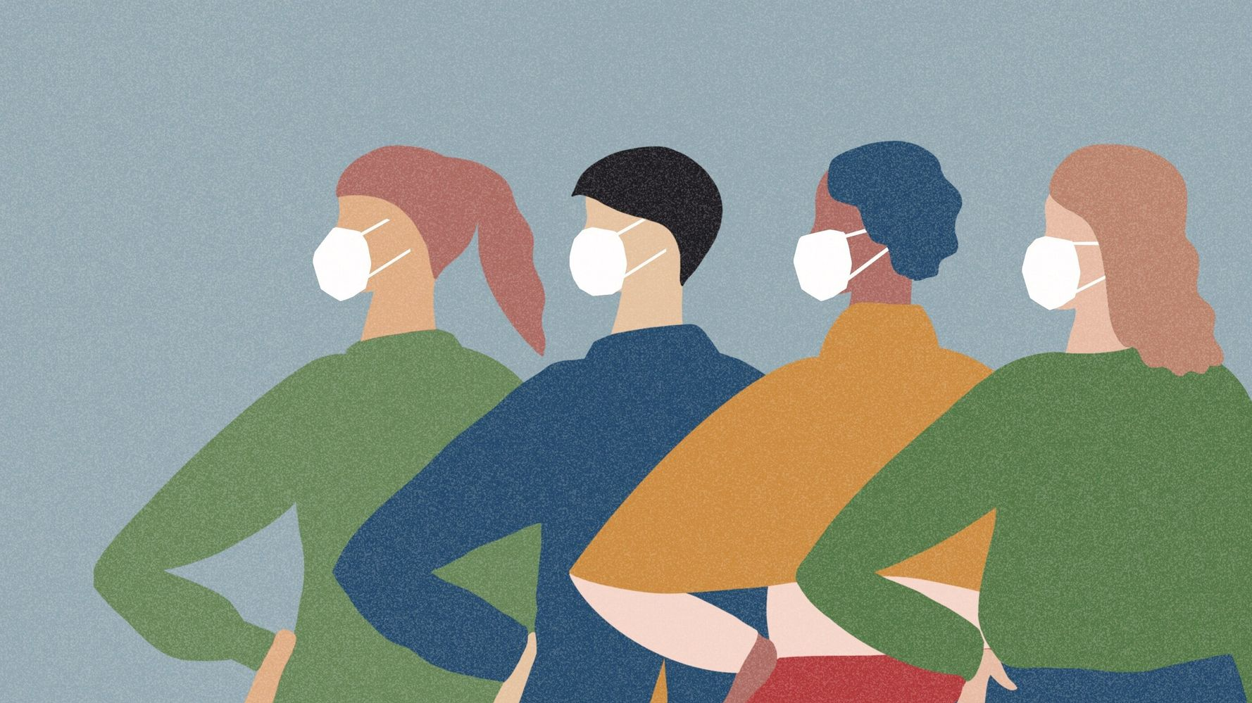 Health Experts Want People To Know Face Covers Can Protect The Wearer Too