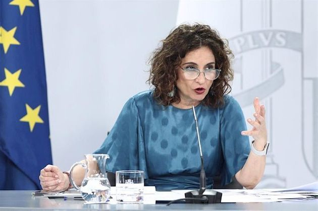 La ministra portavoz, María Jesús