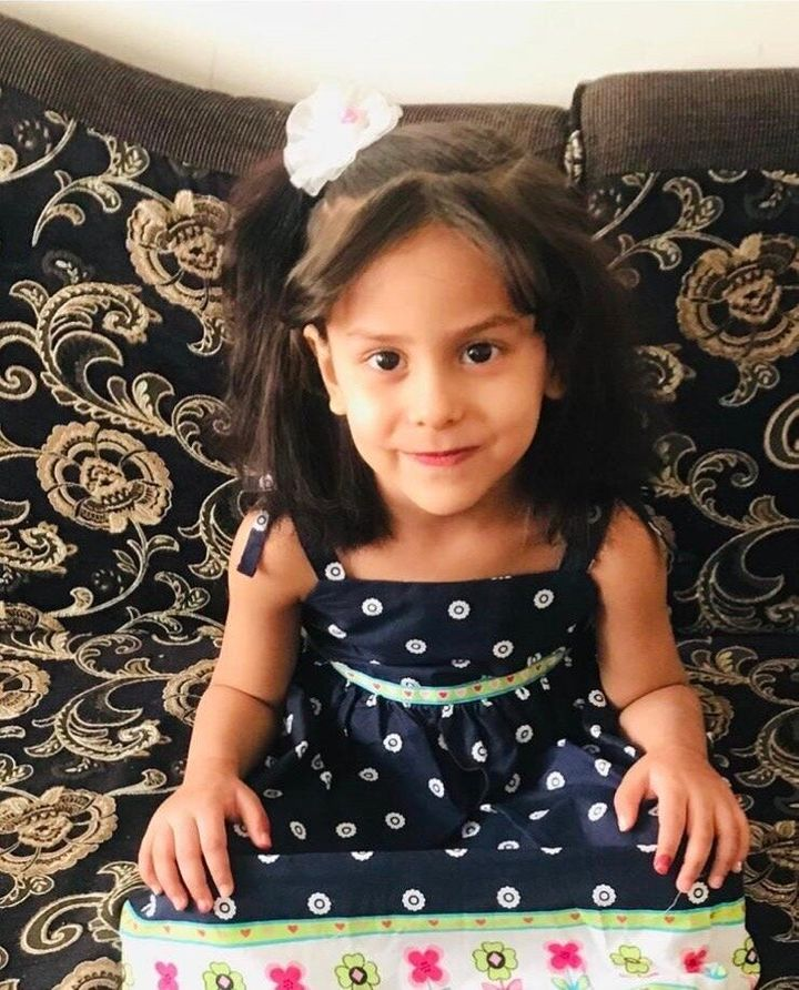 Ali Alwahabi's 3-year-old daughter, pictured above, suffers from asthma and other breathing-related complications. She is tra