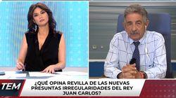 Miguel Ángel Revilla habla así de Felipe
