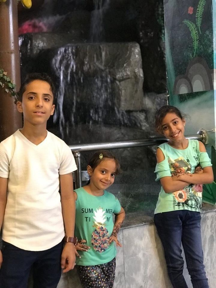 Adel Al Bahrmi's children are green card holders currently in Yemen. Their U.S. residency is at risk if they don't return bac