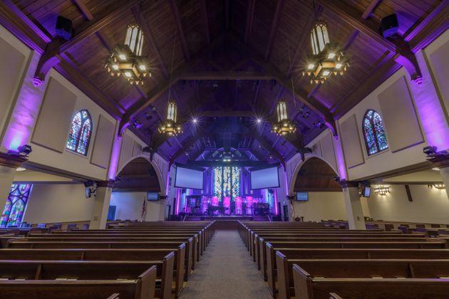 Inside Menlo Church, where congregants recently learned that their senior pastor kept secret that a volunteer...
