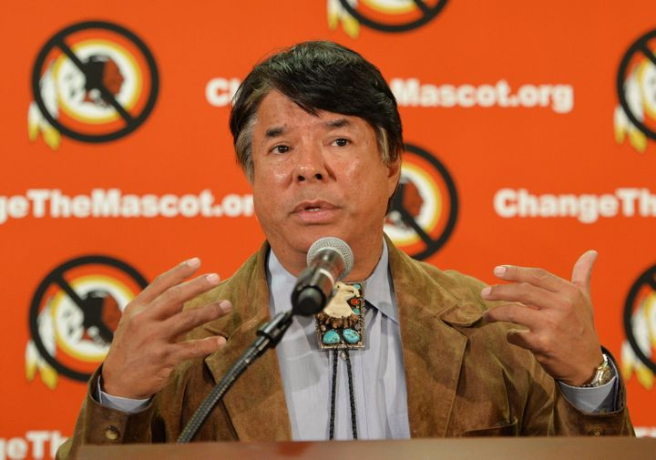 Oneida Indian Nation Representative Ray Halbritter helped launched the Change the Mascot campaign in 2013, in an effort to fo