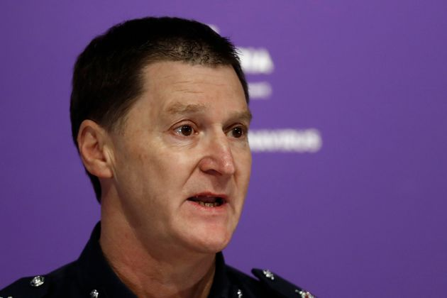 Victoria Police Chief Commissioner Shane Patton said the birthday party ended up costingthe equivalent...