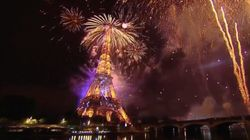 À Paris, le feu d'artifice