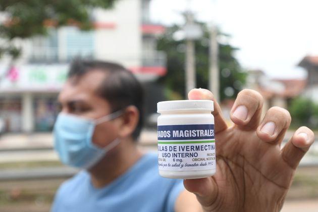 Até o momento, oMinistério da Saúde não incluiu a ivermectina nas recomendações...