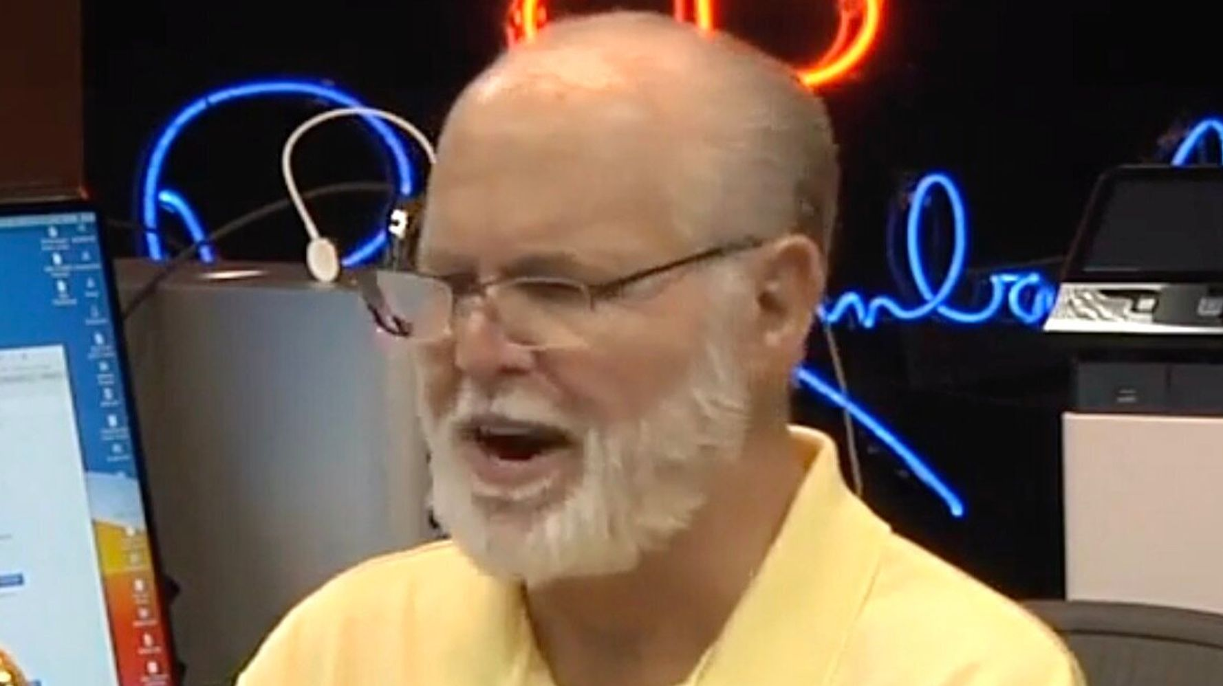 Rush Limbaugh Gets Extra Weird, References Cannibalism In Coronavirus Rant