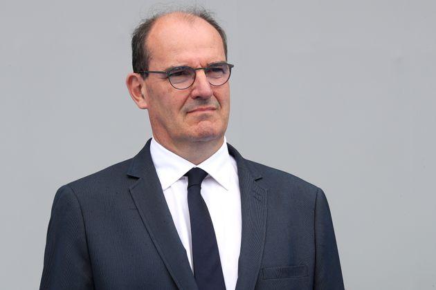 Jean Castex, lors de la cérémonie du 14 juillet, la veille de son discours de politique