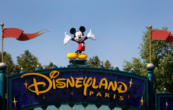 Entrada de Disneyland Paris