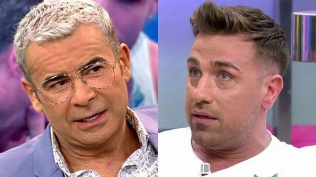 Jorge Javier Vázquez y Rafa Mora en el plató de 'Sálvame'.