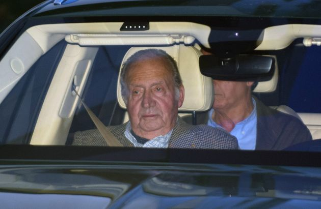 Juan Carlos I, fotografiado el 16 de enero de 2020 en Madrid (Europa Press Entertainment/Europa Press...