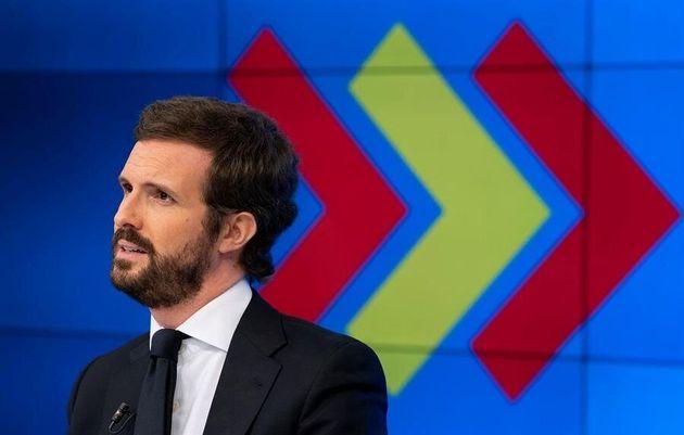 Pablo Casado, presidente el