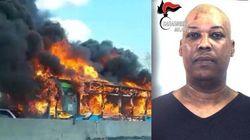 Condannato a 24 anni Ousseynou Sy: dirottò e incendiò un bus a San