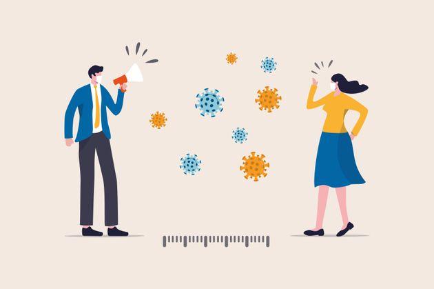 Comment rappeler poliment à quelqu'un de mettre son masque et respecter les gestes