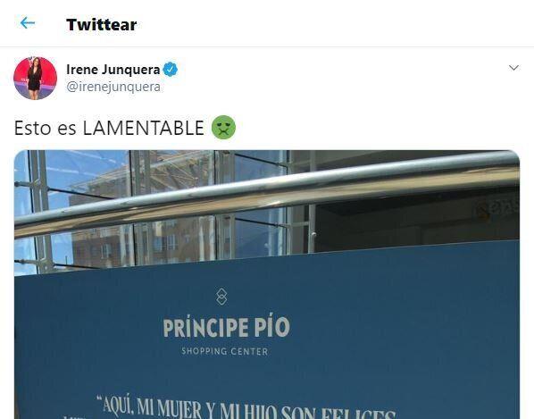 El tuit de Irene