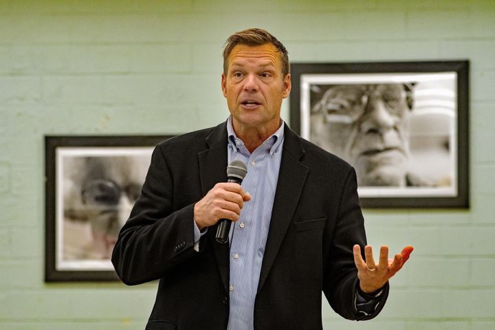 Controversial Republican Kris Kobach is trying to resuscitate his political career by winning his party's nomination for an o