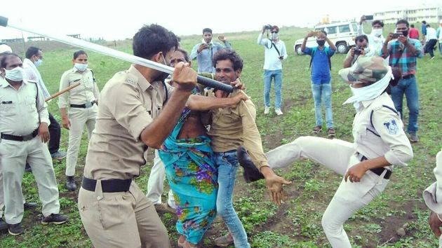 The videos and photographs of police assaulting the couple and their relatives, have circulated widely...