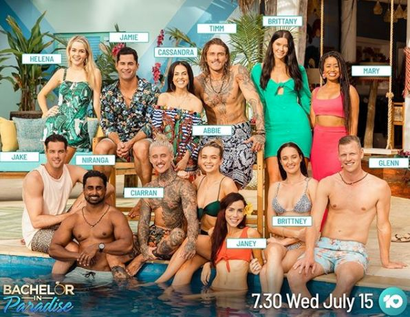 'Bachelor In Paradise' 2020 cast