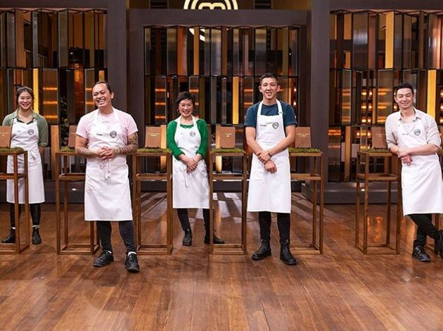 'MasterChef Australia's immunity challenge with five Asian Australian contestants earlier this