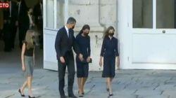 El discreto gesto del rey con Letizia al llegar al homenaje de Estado: se dio cuenta y fue