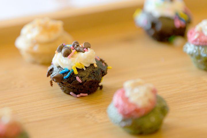 Βίγκαν cupcakes