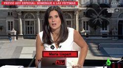 María Llapart, al borde de las lágrimas en 'Al Rojo Vivo' tras el homenaje de