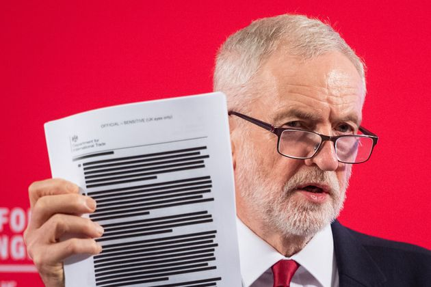 Russians Tried To Influence UK General Election By Pushing Leaked US Trade Report Used By Jeremy Corbyn