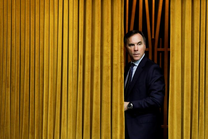 Finance Minister Bill Morneau arrives to a meeting of the special committee on the COVID-19 pandemic, as efforts continue to help slow the spread of the coronavirus disease (COVID-19), in the House of Commons on Parliament Hill in Ottawa on May 13, 2020.