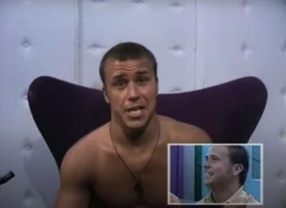 Craig in Big Brother's first ever Diary