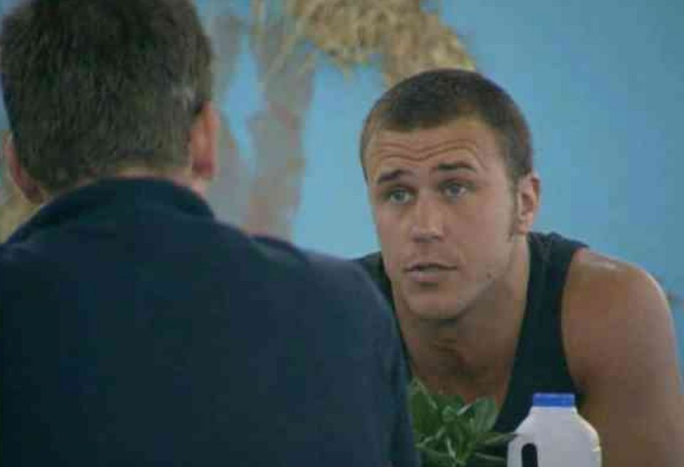 Craig confronts Nick in the Big Brother