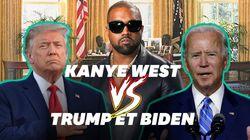 La candidature de Kanye West n'effraye pas Trump et Biden, voici