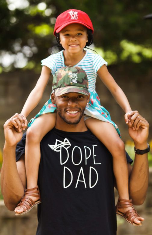 Joshua Johnson is the man behind Dope Dad, an organization that supports Black fathers.