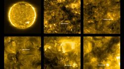 Closest Ever Images Of The Sun Reveal Corona 'Campfires' And Space Dust Sunlight