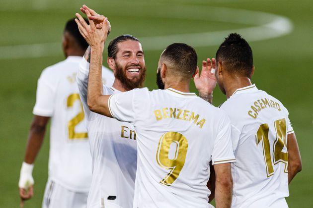 El Real Madrid, campeón de Liga tres años después tras ganar al Villarreal