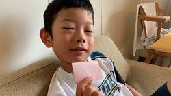 息子がもらった初めてのラブレター。「ぼくはままとけっこんするから、だいじょうぶ」