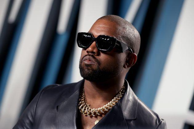 El rapero Kanye West, en la fiesta Vanity Fair tras los Oscar 2020 (Rich Fury/VF20/Getty Images for Vanity