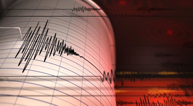 Seismograph and Earthquake - 3D