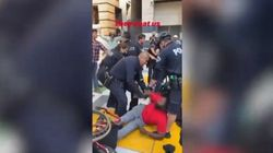 Polizia Usa scaraventa a terra uomo in carrozzina, video diventa