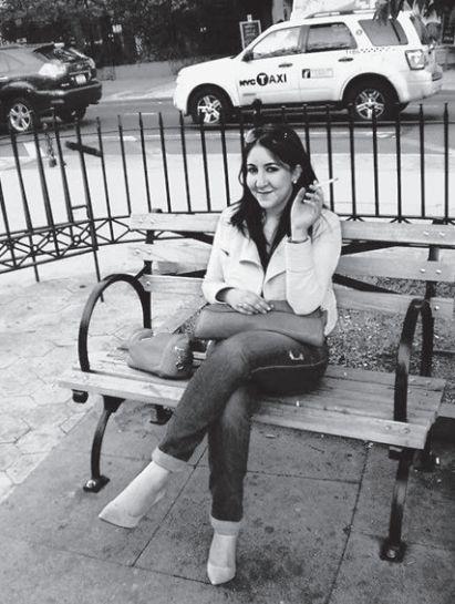 Deborah Feldman, tras abandonar su vida jasídica.