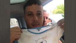 Migrante salva una donna e il figlio dalla bomba d'acqua a Palermo.