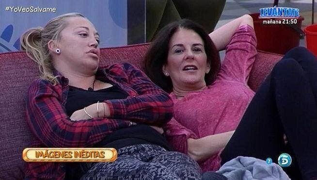 Belén Esteban y Ángela Portero en 'GH VIP'.