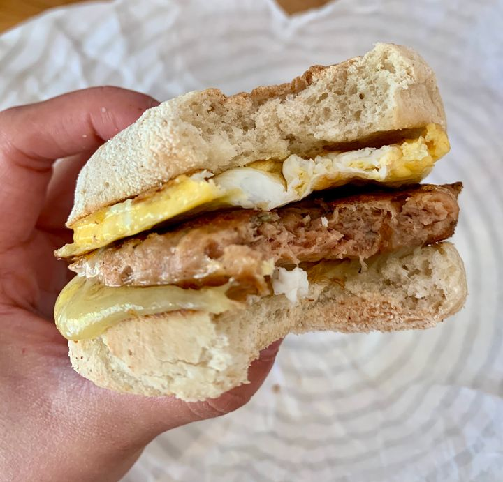 Sausage and Egg McBluffin
