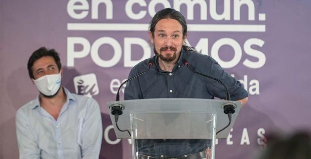 Pablo Iglesias en rueda de
