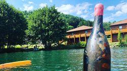 Ce restaurateur a fait vieillir son vin au fond d'un lac