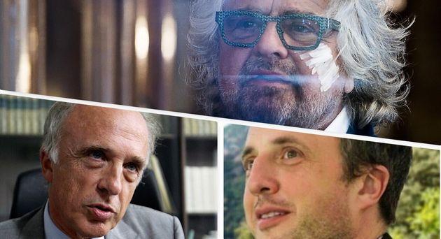 Beppe Grillo, Adriano e Ferruccio