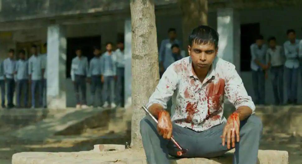 Abhishek Banerjee in a still from Sudip Sharma's 'Paatal Lok'