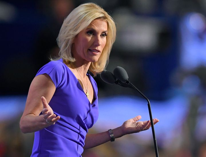 Laura Ingraham speaks during the Republican National Convention in Cleveland on July 20, 2016.