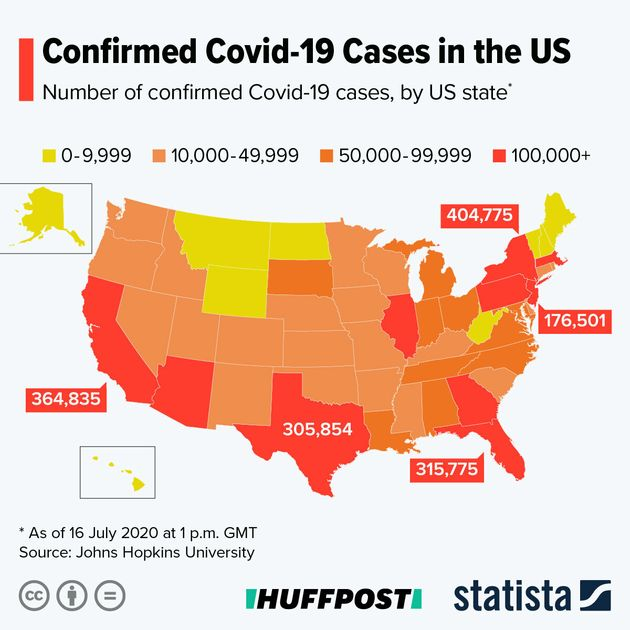 9 Charts That Show Just How Bad The Coronavirus Situation Is In The US Right