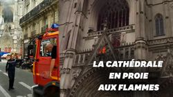La cathédrale de Nantes victime d'un violent